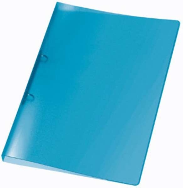 Veloflex Ringbuch A4 Propyglass Viquel 2 Ring blau