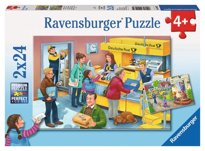 Ravensburger Puzzle Arbeit bei der Post