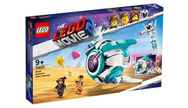 Lego Movie 2 70830 Sweet Mischmaschs Systar Raumschiff