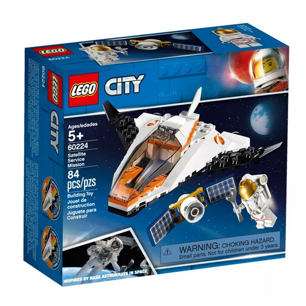 Lego City 60224 Satelliten-Wartungsmission