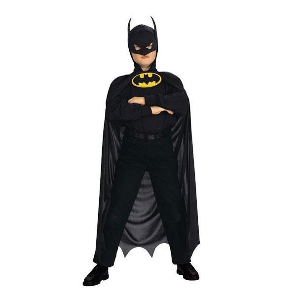 Kostüm Batman Umhang schwarz