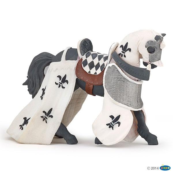 Papo 39786 Pferd des Paladins, weiß