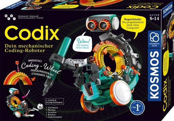 Experimentierkasten Codix Dein mechanischer Coding-Roboter
