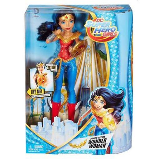 Super Hero Girl Puppe Power Action Wonder Woman