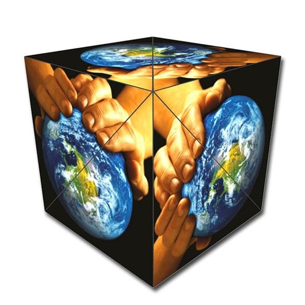 GeoBender Cube World