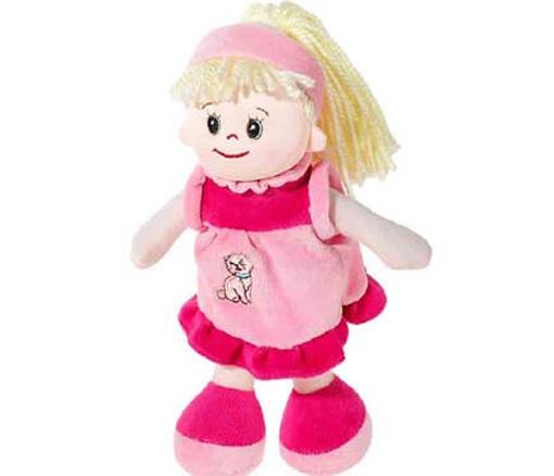 Poupetta Stoffpuppe kleine Liesel blondes Haar 20 cm