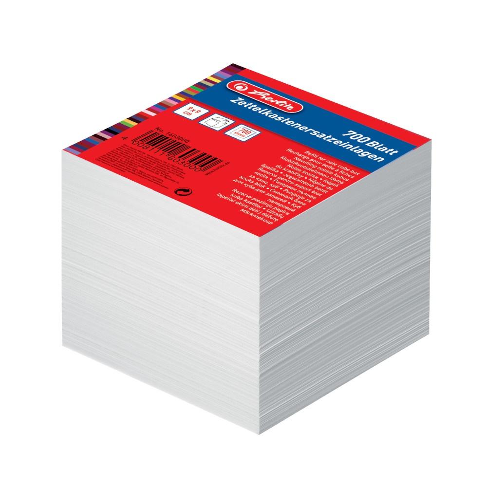 Zettelklotz-Ersatz 9 x 9 cm 700er