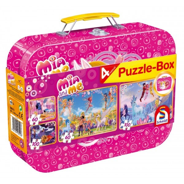 Puzzle Puzzle-Box Mia and me 4 Puzzle