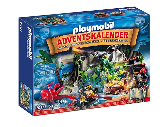 Playmobil 70322 Adventskalender 2020 Schatzsuche der Piraten