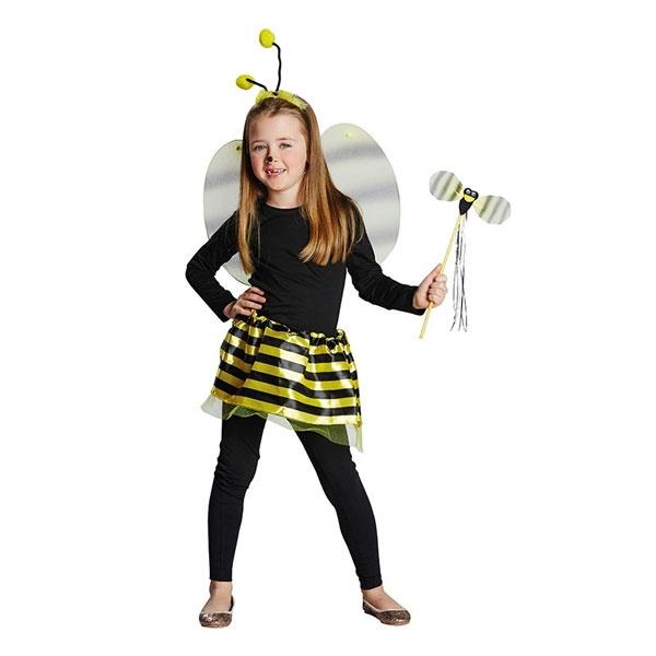 Kostüm-Zubehör Bienen Set Kinder Deluxe 4tlg.