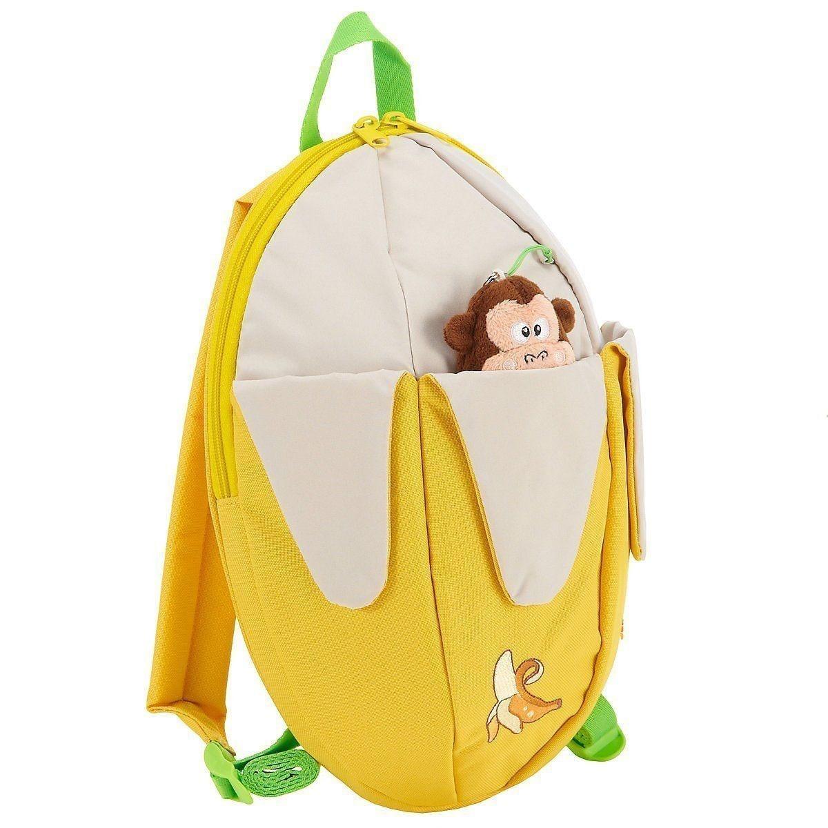 Kindergartenrucksack Step by Step Banane