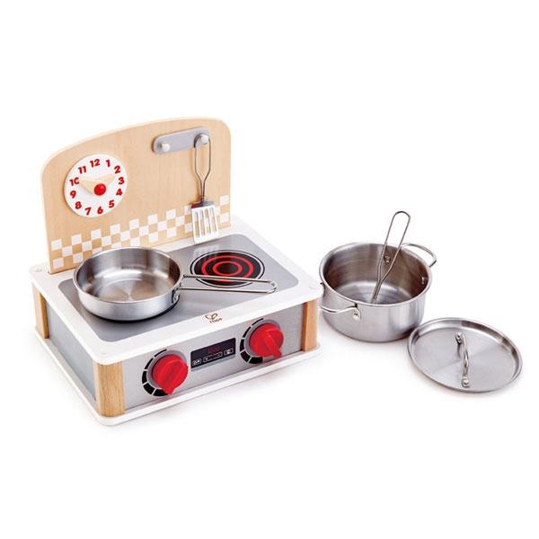 Hape 2-in-1 Küchen- & Grill-Set