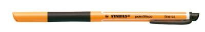 Stabilo Gelschreiber pointVisco 0,5 mm schwarz
