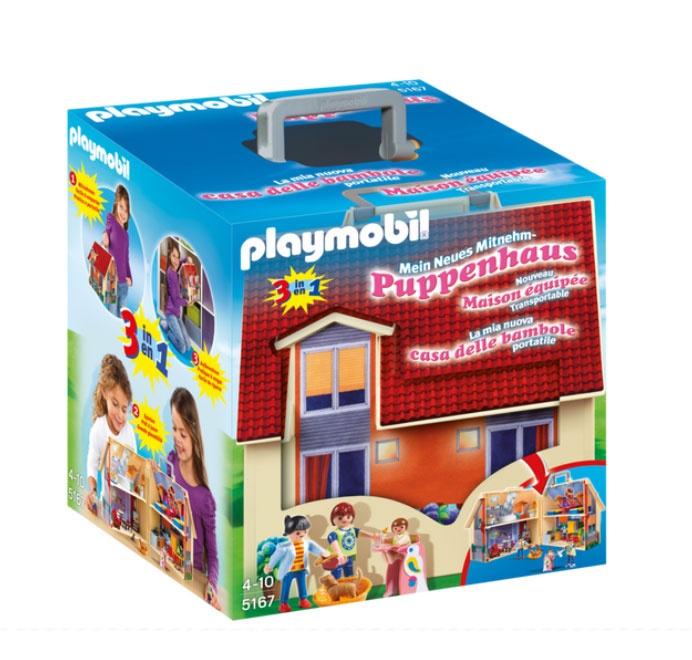 Playmobil 5167 Mitnehm-Puppenhaus