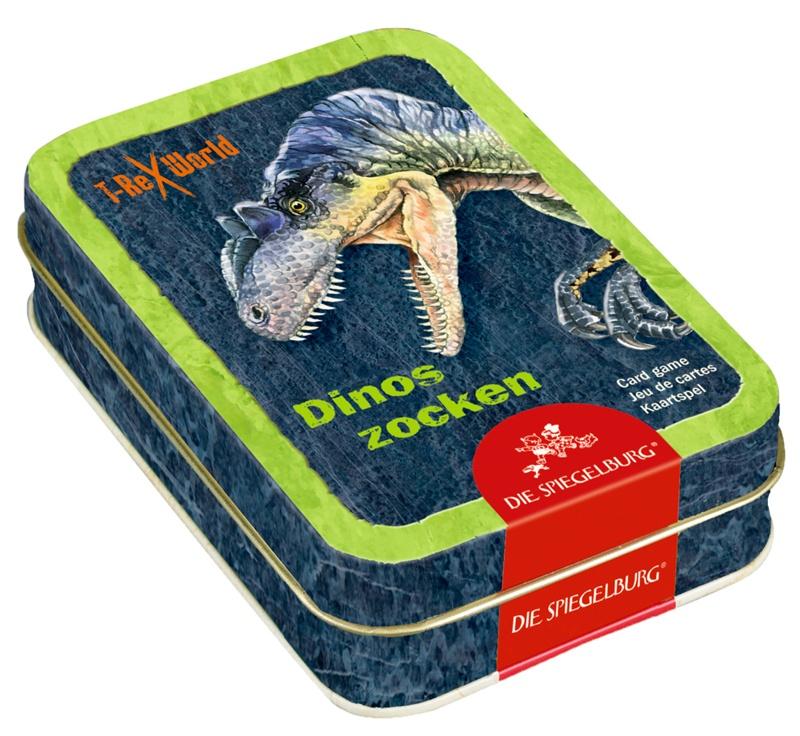 Spiegelburg T-Rex World Dinos zocken Kartenspiel