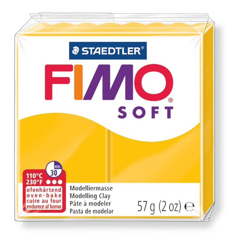 Staedtler Modelliermasse Fimo soft 57 g sonnengelb