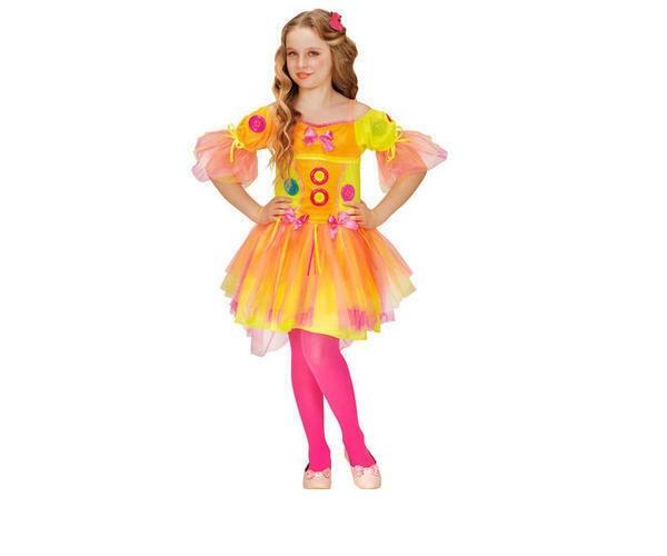 Kostüm Neon Fantasy Girl Gr. 116