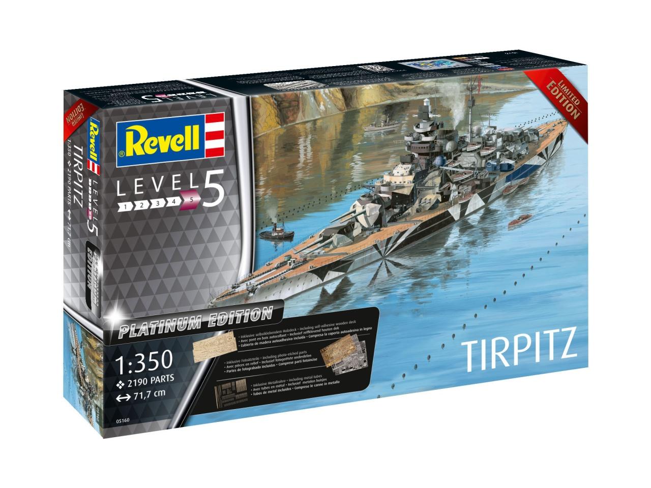 Revell 05160 Tirpitz 1:350