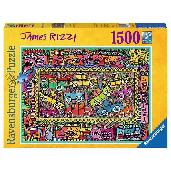 Ravensburger Puzzle James Rizzi 1500 Teile