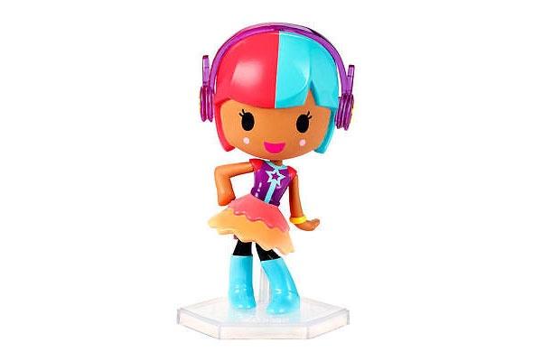 Barbie VideoGame Hero Puppe rot-blau