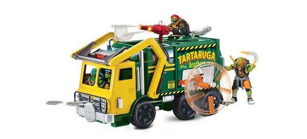 Ninja Turtles Movie II Tactical Truck