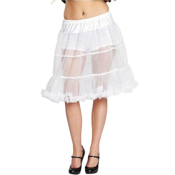 Kostüm Petticoat weiß 34-36