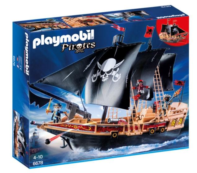 Playmobil 6678 Pirates Piraten-Kampfschiff