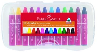 Faber Castell Jumbo Wachsmalkreide 12er