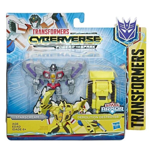 Transformers Cyberverse Starscream/Demolition Destroyer