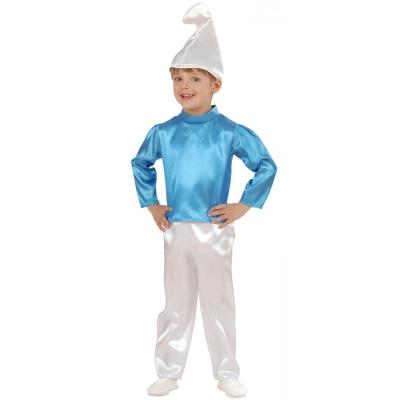 Kostüm Zwerg blau 98
