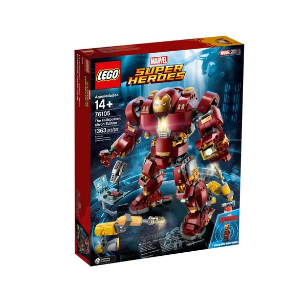 Lego Super Heroes 76105 Der Hulkmaster Ultron Edition