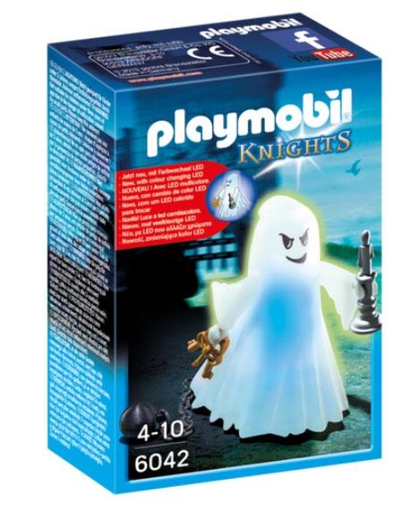 Playmobil 6042 Knights Gespenst mit Farbwechsel-LED