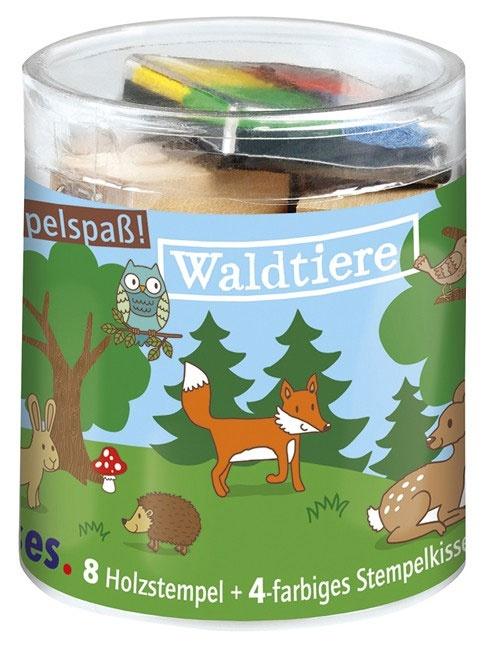 Stempelbox Waldtiere, klein
