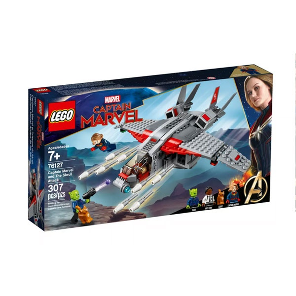 Lego Super Heroes 76127 Captain Marvel und die Skrull-Attack