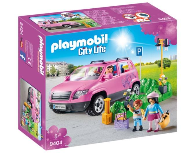 Playmobil 9404 City Life Familien-PKW mit Parkbucht