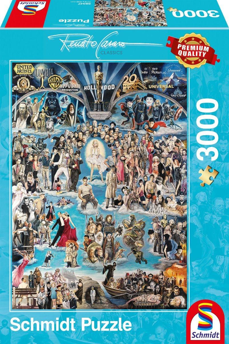 Schmidt Spiele Puzzle Renato Casaro Hollywood XXL 3000