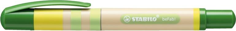 Stabilo Tintenroller beFab! Chic Heritage grün/beige