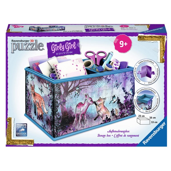 Ravensburger Puzzle 3D Girly Box Animal Trend