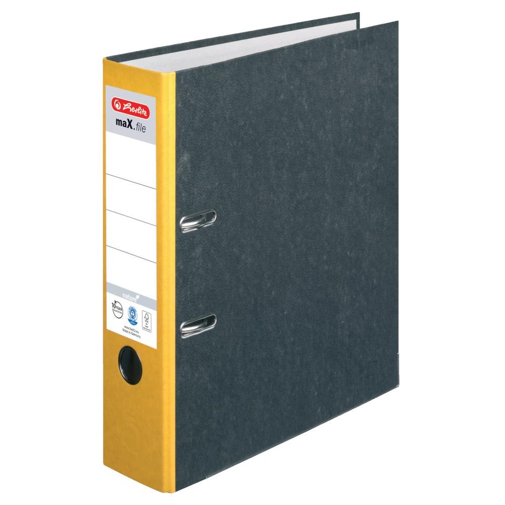 Ordner A4 8cm gelb