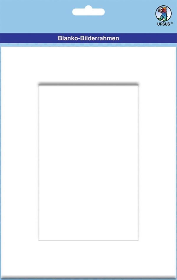 Blanko-Bilderrahmen rechteckig