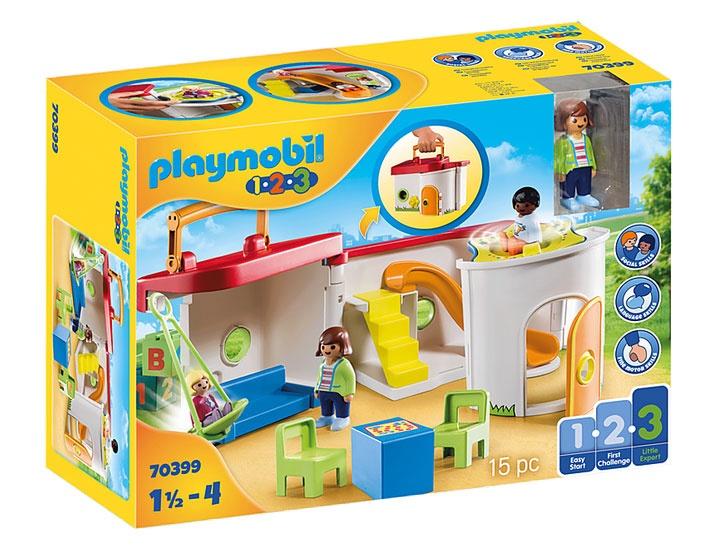 Playmobil 70399 1.2.3 Mein Mitnehm-Kindergarten