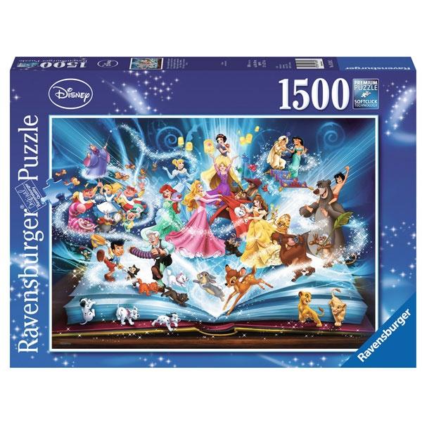 Puzzle Disneys magisches Märchenbuch 1500 Teile