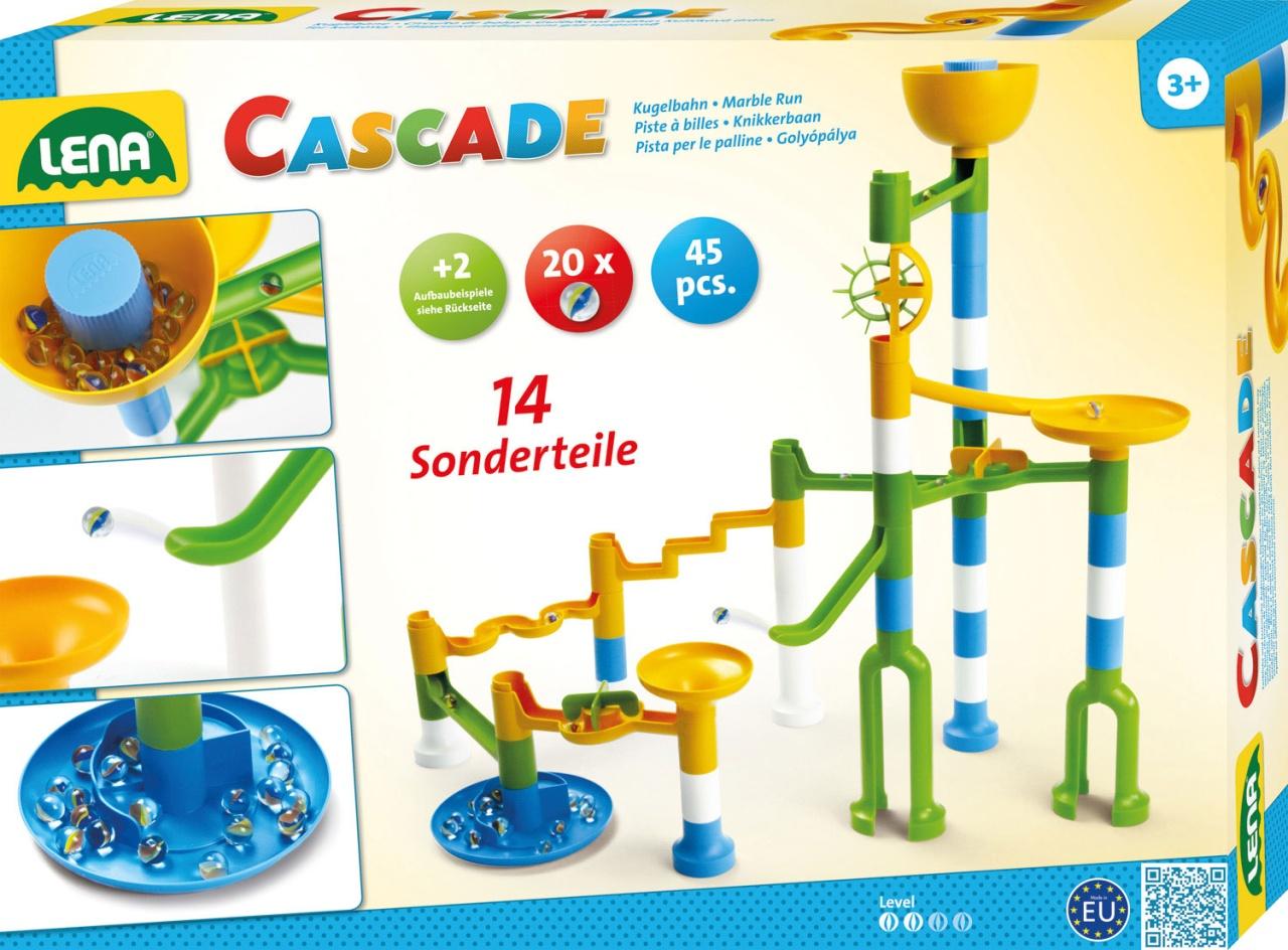 Kugelbahn Cascade XL Twister