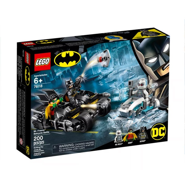 Lego Super Heroes 76118 Batcycle-Duell mit Mr. Freeze
