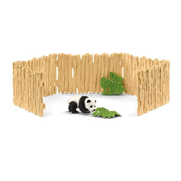 Schleich Wild Life Gehege für Pandabären 42429