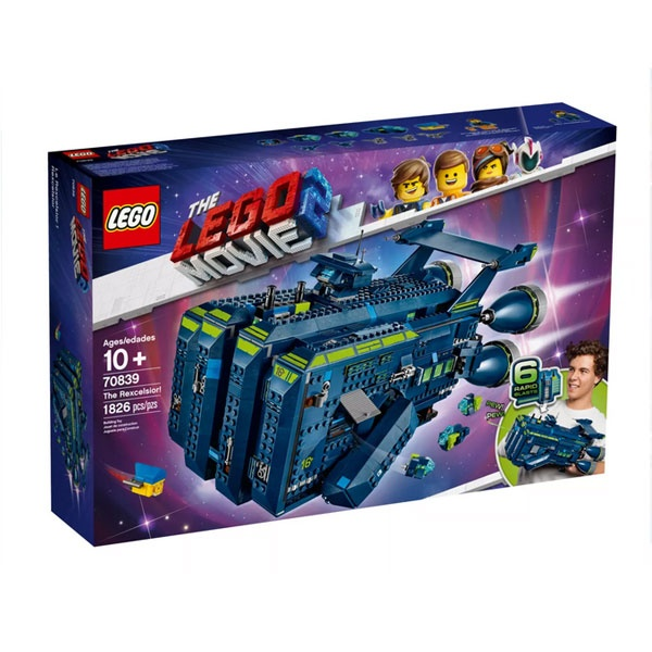 Lego The Lego Movie 2 70839 Die Rexcelsior!