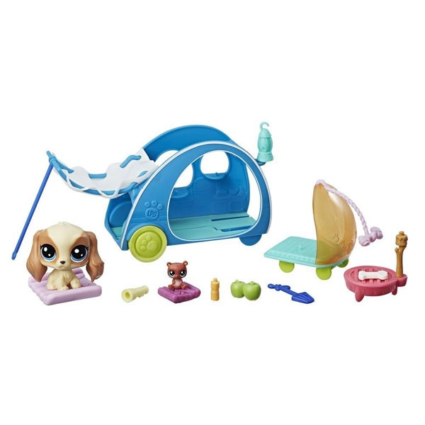 Littlest Pet Shop Campingspaß Spielset