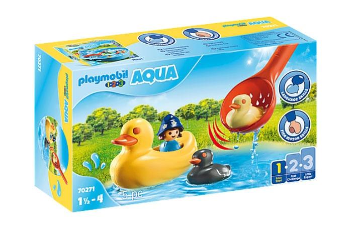 Playmobil 70271 1.2.3 Aqua Entenfamilie