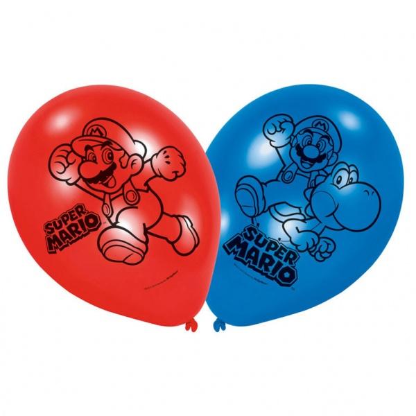 Super Mario Luftballons