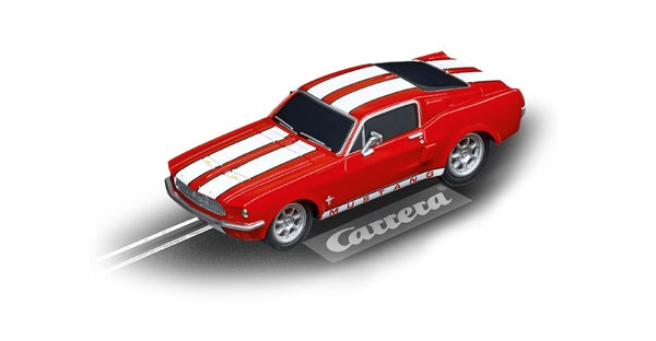 Carrera GO!!! Ford Mustang 67 - Race Red 64120